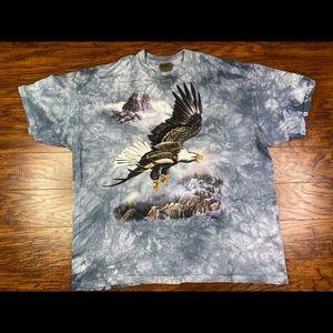 Vintage the mountain bald eagle shirt